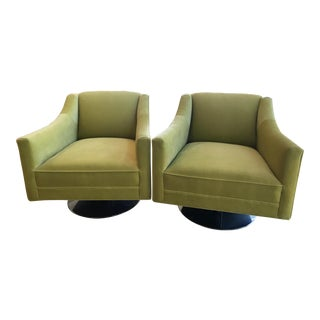 Mitchell Gold and Bob Williams Cara Swivel Chair - a Pair