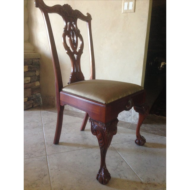 Hickory Chair Mt. Vernon Dining Chairs - Set of 8 - Image 6 of 8
