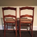 Image of Antique Tiger Maple Chairs