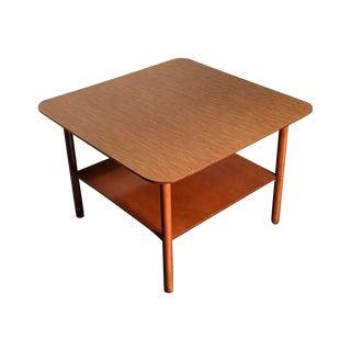 Mid-Century Modern Corner End Table