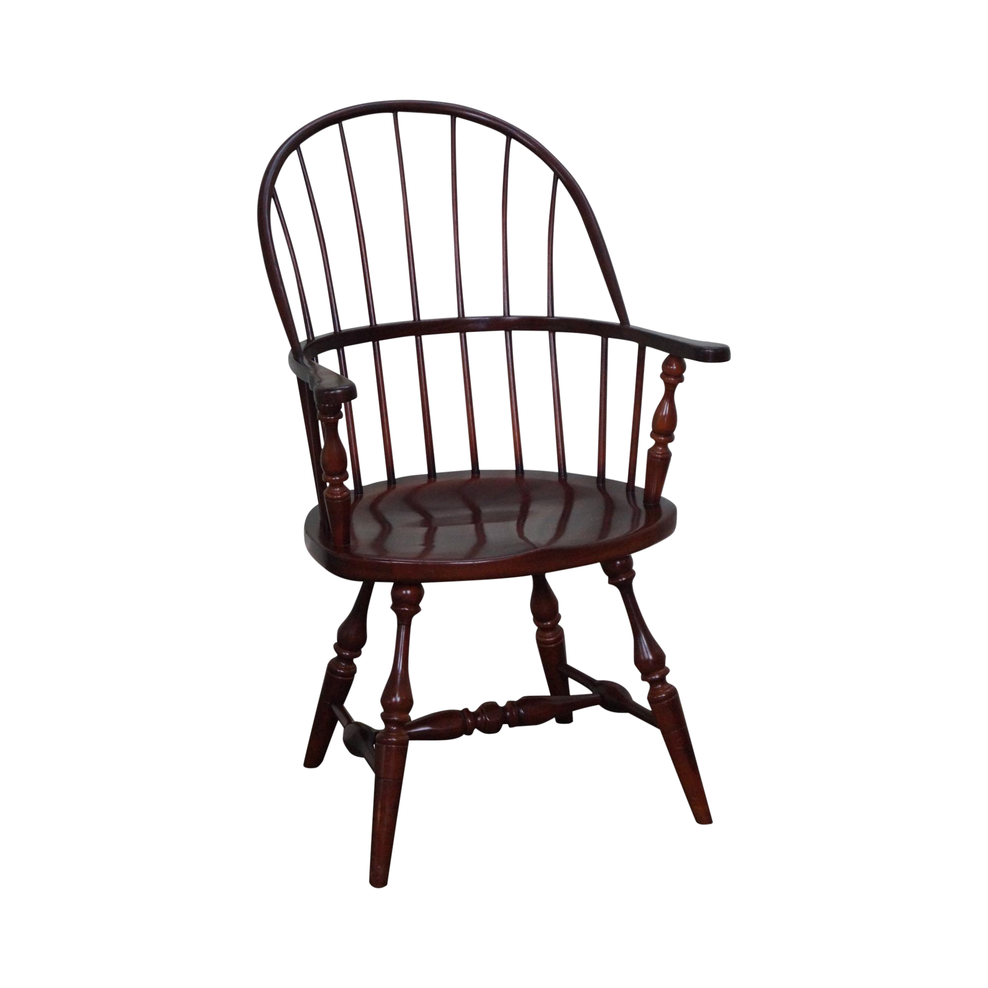 Frederick Duckloe Loop Back Windsor Arm Chair