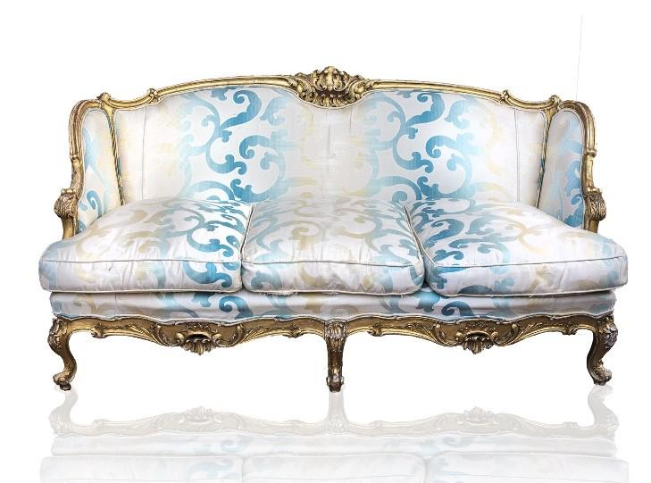 17th C. French Louis XV Sofa   Image 3 Of 3