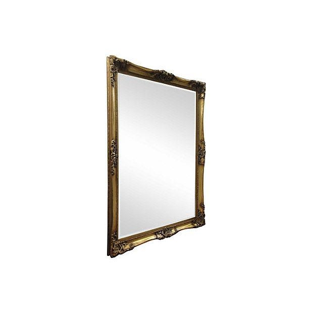 Gilt Solid Oak Mirror - Image 3 of 7