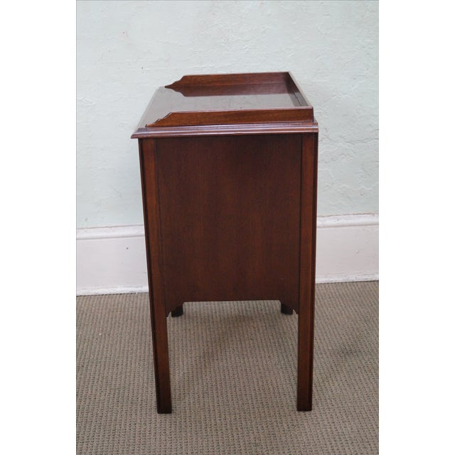Drexel Heritage Chippendale-Style Nightstand - Image 3 of 10