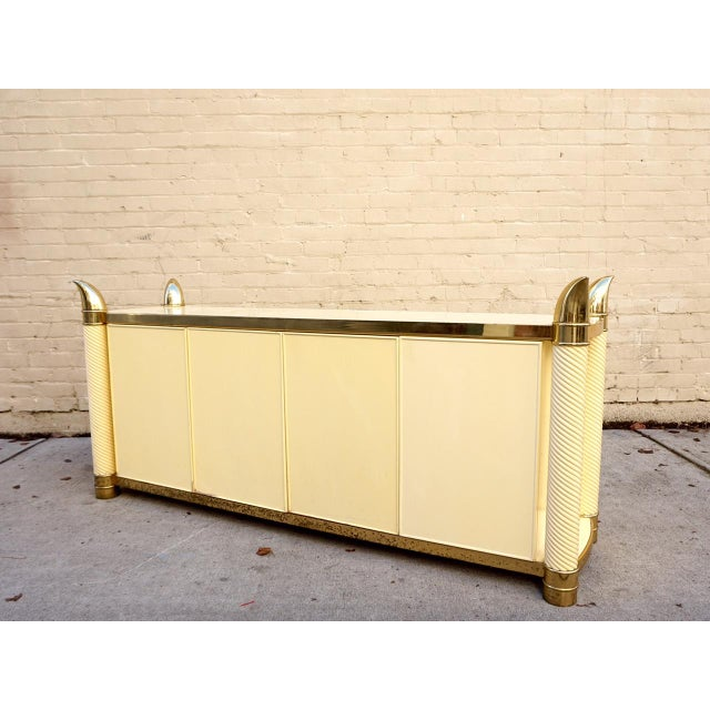 Hollywood Regency Cabinet & Buffet - Image 10 of 11