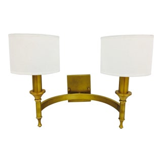 Contemporary Brass Sconce