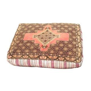 Rectangular Persian Rug Floor Pillow