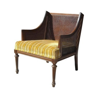 Mid-Century Cane Lounge Chair