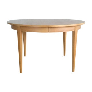 Danish Modern Omann Jun Oak Dining Table