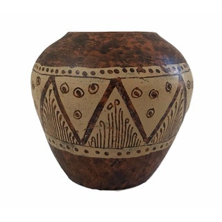 Southwestern Style Small Brown Vase