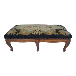 French Victorian Foot Stool