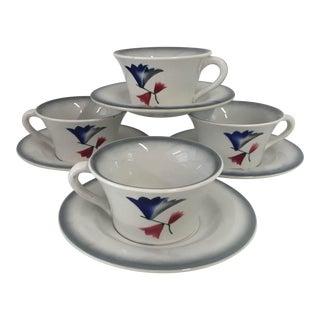 """Italian Ceramic """"Galvani"""" Tea Set"""
