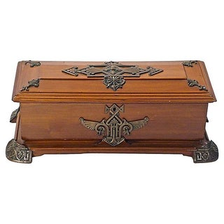 Antique Charles G. Diehl Edwardian Box