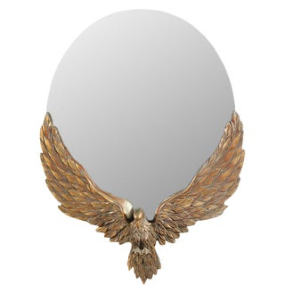Antique 19th C. Carved Eagle Mirror
