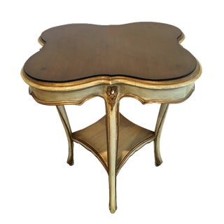 French Provincial Clover Side Table