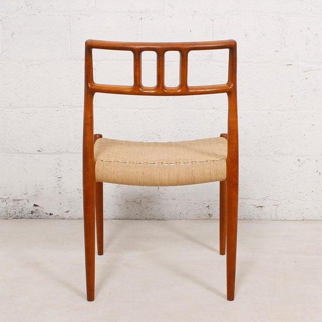 Danish Modern Teak Niels Moller #79 Chairs - S/6 - Image 5 of 7