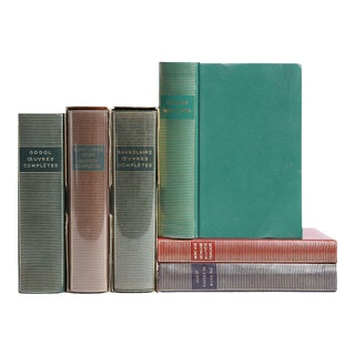Mid-Century French Language Classic Books - Set of 6