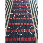 Image of Vintage African Cowrie Shell Throw Blanket
