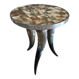 Bones and Horns Side Table