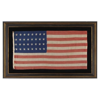 32 Star Antique American Flag, Representing Minnesota Statehood
