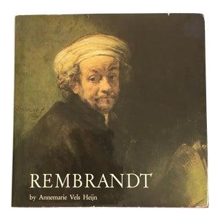 1981 Rembrandt Art Book