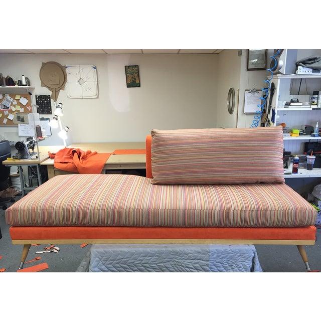 Custom Mid-Century Modern Sofa Lounge - Image 5 of 10