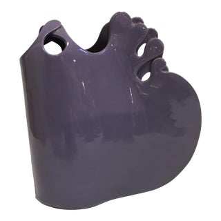 Purple Studio Pottery Vase