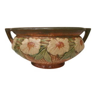 Roseville Console Bowl - Double Handled