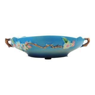 Antique Roseville Pottery Blue Bowl
