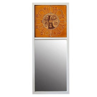 """Soleil"" Mirror by Roger Capron and Jean Derval"