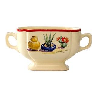 Homer Laughlin Conchita Sugar bowl circa 1936-1944