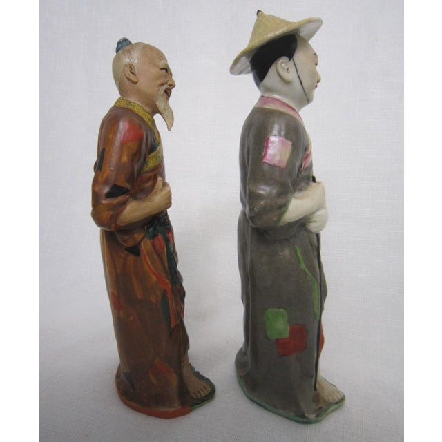 Chinese Figures - A Pair - Image 5 of 5