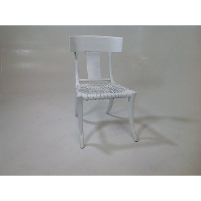 Modern Klismos Chair: Mid-Century Modern Klismos-Style Dining Chair