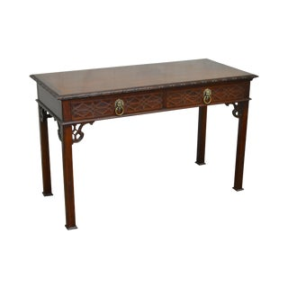 Baker Historic Charleston Collection Chippendale Style Writing Desk (A)
