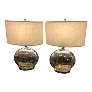 Uttermost Piaden Water Glass Table Lamps - A Pair