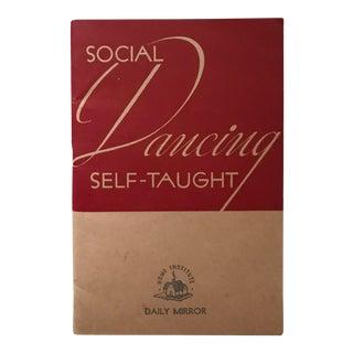 Social Dancing - Vintage Instructional Book