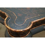 Image of Maitland-Smith Chinoiserie Decorated Coffee Table
