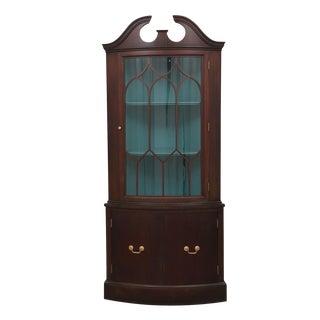 Empire Style Corner Cabinet