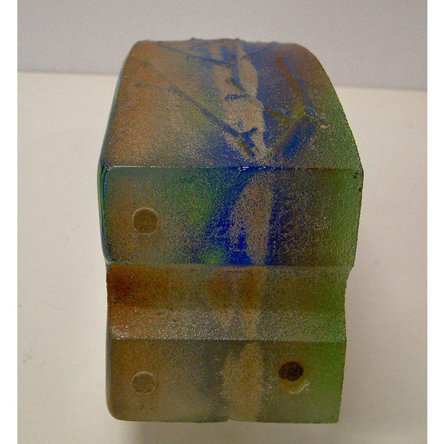 Stephanie Trenchard Blown & Cast Glass Sculpture - Image 5 of 6