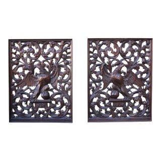 19th Century American Panels - A Pair