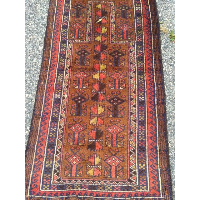 Handmade Persian Baluchi Rug - 2′4″ × 4′5″ - Image 4 of 9