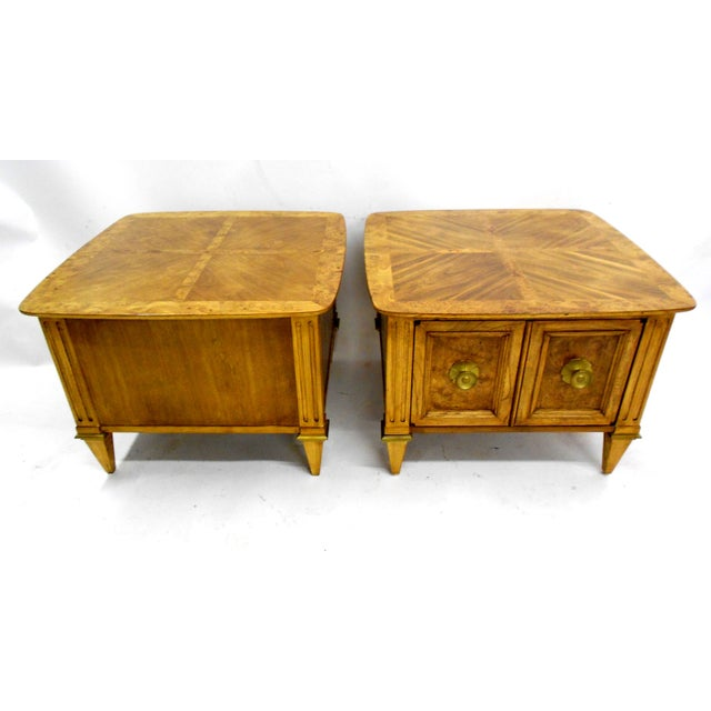 Lane Furniture Mid-Century Nightstands - Image 4 of 7
