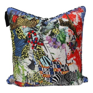 Modern Multi-Colored Christian Lacroix Pillow