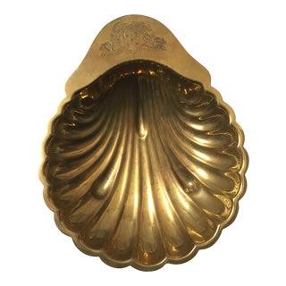 Brass Shell Shaped Dish