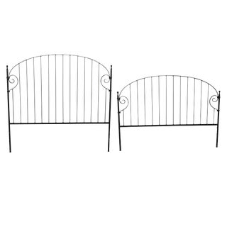 Charleston Forge Iron Queen Bed Headboard & Footboard
