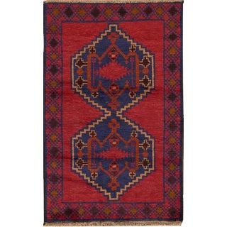 "Apadana - Vintage Persian Balouch Rug, 2'8"" x 4'4"""