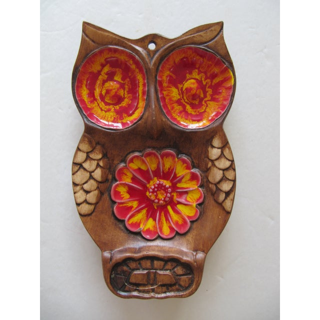70's Owl Catchall - Image 2 of 5