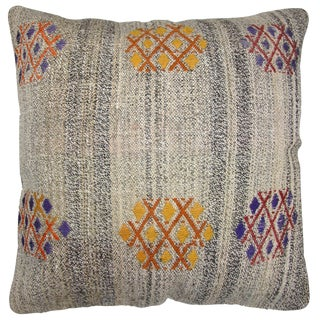 Rug & Relic Kilim Floor Pillow