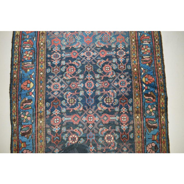 """Antique Persian Wide Runner- 3'10"""" X 9'7"""" - Image 6 of 11"""