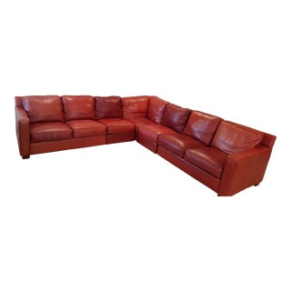 Thomasville Metro Leather Sectional